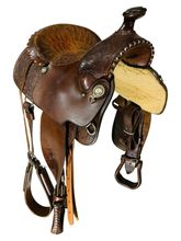 PRICE REDUCED!! 15 Inch Used Billy Cook Trail Saddle 3877 *Free Shipping*