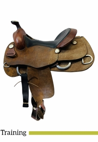 15 Inch Used Billy Cook Training Saddle 6030 *Free Shipping*