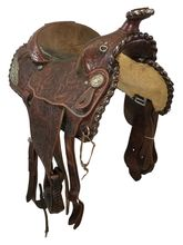 15 Inch Used Billy Royal Show Pleasure Saddle 3314 *Free Shipping*
