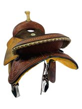 PRICE REDUCED! 15 Inch Used Circle Y Kelly Kaminski Fly Flex2 Barrel Saddle 1526 *Free Shipping*