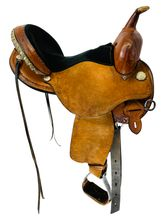 15 Inch Used Circle Y Kenny Harlow Complete Competitor Barrel Saddle 5625 *Free Shipping*
