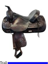 PRICE REDUCED! 15 Inch Used Circle Y Park and Trail Saddle 3626 *Free Shipping*