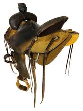 15 Inch Used Circle Y Ranch Saddle 1128 *Free Shipping*