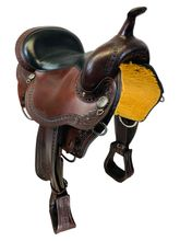 SOLD 2021/05/05 15 Inch Used Circle Y Sheridan Flex2 Trail Saddle 1572 *Free Shipping*