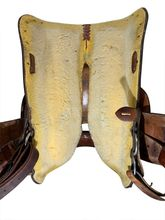 15 Inch Used Circle Y Show Saddle 1515 *Free Shipping*