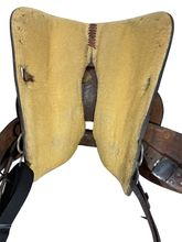 15 Inch Used Circle Y Show Saddle 1651 *Free Shipping*