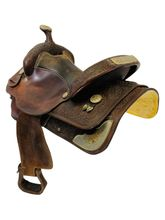 15 Inch Used Circle Y Show Saddle 2485 *Free Shipping*