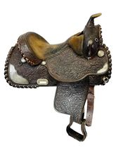 15 Inch Used Circle Y Show Saddle 2492 *Free Shipping*