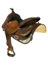 15 Inch Used Circle Y Show Saddle 2797 *Free Shipping*