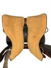 15 Inch Used Circle Y Stagecoach West Mounted Shooting Saddle 5617 *Free Shipping*