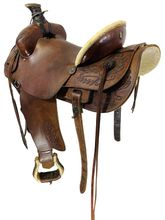 15 Inch Used Colorado Ranch Saddle C-275 *Free Shipping*