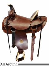 15 Inch Used Colorado Saddlery High Plains All-Around 100-5004 *Free Shipping*