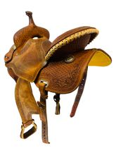 PRICE REDUCED! 15 Inch Used Connolly Saddlery Barrel Saddle 2014 - 10 *Free Shipping*