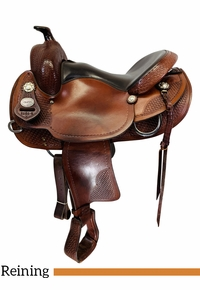 15 Inch Used Crates Classic Reining Saddle 2222 *Free Shipping*