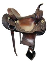 PRICE REDUCED! 15 Inch Used Crates Gaited Trail Saddle 281 *Free Shipping*