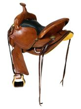 SOLD 2021/10/15  15 Inch Used Crates Light Ladies Competition Trail Saddle 2172 *Free Shipping*