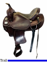 15 Inch Used Crates Light Ladies Trail Saddle 2120 *Free Shipping*