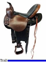 15 Inch Used Crest Ridge Saddlery Sentry Lite Gaited Saddle 15R *Free Shipping*