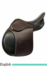 15 Inch Used Crown by Dover All Purpose Saddle Custom *Free Shipping*