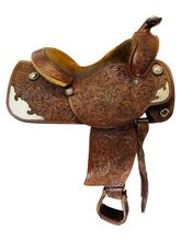 15 Inch Used Custom Show Saddle Custom *Free Shipping*