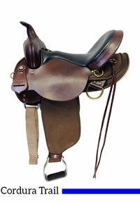 15 Inch Used High Horse by Circle Y Eldorado Cordura Trail Saddle 6915 *Free Shipping*