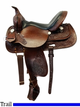 PRICE REDUCED! 15 Inch Used High Horse by Circle Y Mineral Wells Trail Saddle 6812 *Free Shipping*