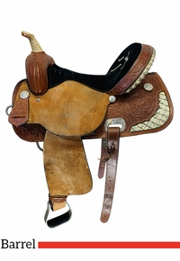 15 Inch Used High Horse by Circle Y Proven Aurora Barrel Saddle 6215 *Free Shipping*