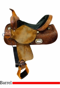 PRICE REDUCED! 15 Inch Used High Horse Proven Mansfield Barrel Saddle 6221 *Free Shipping*