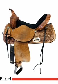 15 Inch Used High Horse Proven Mansfield Barrel Saddle 6221 *Free Shipping*