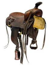 15 Inch Used Mac Pherson Trail Saddle Custom *Free Shipping*