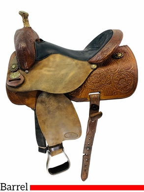 PRICE REDUCED! 15 Inch Used Marlene Eddleman by Circle Y Barrel Racer 1186 *Free Shipping*