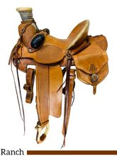 SOLD 2020/09/18  PRICE REDUCED! 15 Inch Used Matt Avery Maker Wade Ranch Saddle 019 *Free Shipping*