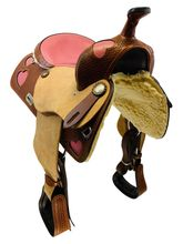 15 Inch Used Montana Saddlery Custom Barrel Racer 7002 *Free Shipping*