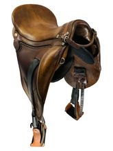 PRICE REDUCED! 15 Inch Used Ortho-Flex Patriot Officer Model Endurance Flex Saddle 5383328 *Free Shipping*