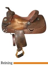 15 Inch Used Pards Advantage Collection Reining Saddle 9666 *Free Shipping*