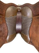 15 Inch Used Peruvian Hacienda La Encantada Pleasure Saddle Custom *Free Shipping*