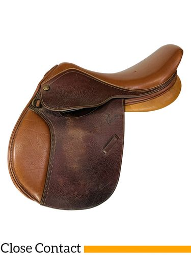 SOLD 2021/09/28  15 Inch Used Pessoa Close Contact Pony Saddle 455753 *Free Shipping*