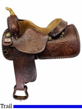 15 Inch Used Red Ranger Pleasure Saddle 1890 *Free Shipping*