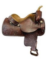 PRICE REDUCED! 15 Inch Used Red Ranger Pleasure Saddle 1890 *Free Shipping*