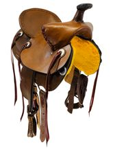 15 Inch Used Riders Choice Bear Trap Ranch Saddle 30119 *Free Shipping*