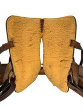 SOLD 2019/09/18  PRICE REDUCED! 15 Inch Used Rocking R Barrel Racer Saddle 335 *Free Shipping*