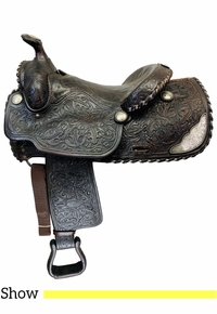 15 Inch Used Ryon Arena Pleasure Show Saddle Custom *Free Shipping*