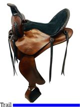 15 Inch Used Synergist Custom Lightweight Trail Saddle *Free Shipping*