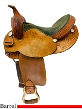 15 Inch Used TexTan Hereford Barrel Racer 08-81024N5 *Free Shipping*