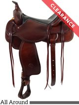 """15"""" The Oregon Trail All Around Saddle by Colorado Saddlery 100-6336, CLEARANCE"""