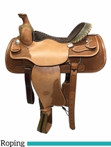 "** SALE **15"" to 17"" Billy Cook Dally Team Roper Saddle 9111"