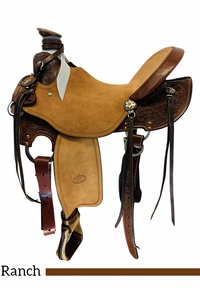 "15"" to 16"" Billy Cook QH Wade Ranch Saddle 2293"