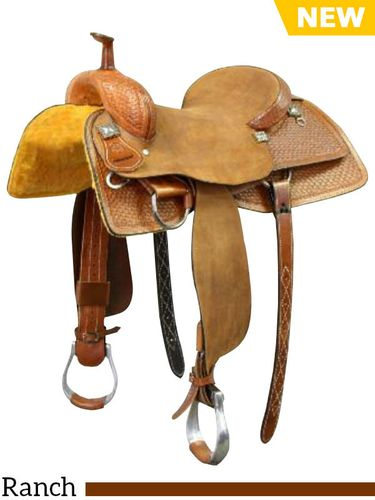 "SOLD OUT 15"" to 16"" Colorado Saddlery Ranch Cutter 300-5115-6115"