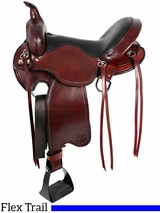 "** SALE **15"" to 17"" Big Horn Custom Light Flex Tree Trail Saddle 810 811"