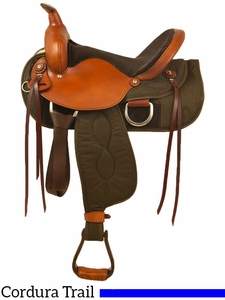 """** SALE **15"""" to 17"""" Big Horn Ladies Light Weight Trail Saddle FQHB 335 336 337"""